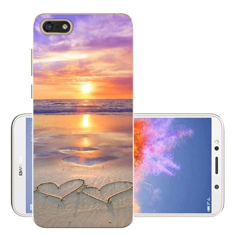 "Huawei Honor 7A Dua-L22 Силиконовая задняя крышка Honor 7 5,45 ""Чехол Мягкий ТПУ телефон Fundas huawei Honor 7A случае Coque бампер"