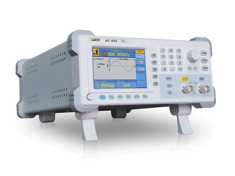 OWON AG1012F двухканальный генератор сигналов произвольной формы 10 МГц Bandwidth125MSa/S частота дискретизации 8 к pts Arb длина волны