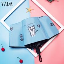 YADA Cartoon Cat &Cat Claw Pattern Folding Rainy Children Umbrella Anti-UV Girls Boys Lovely Animal Gift YD040