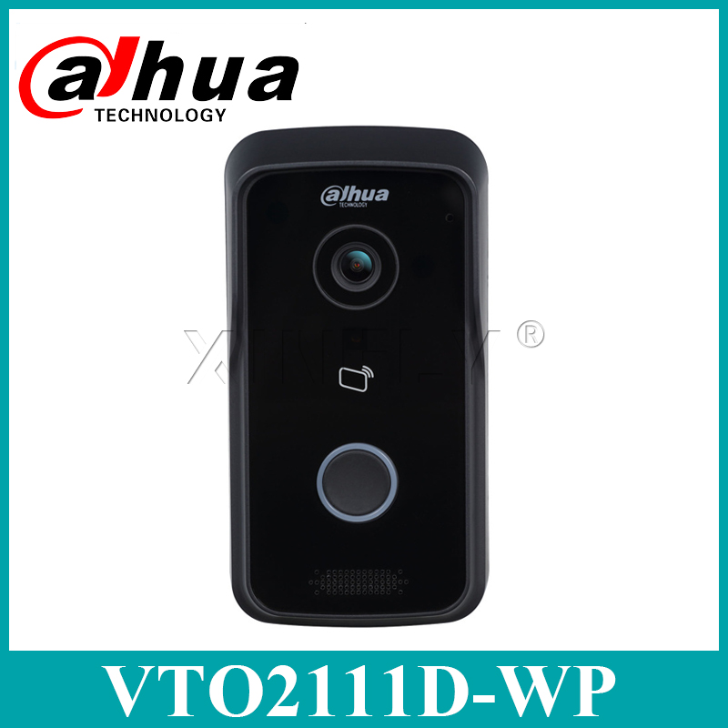 Dahua VTO2111D-WP Original English Version 1MP Wi-Fi Villa Video Intercom Outdoor Station Upgrade From VTO2111D-W