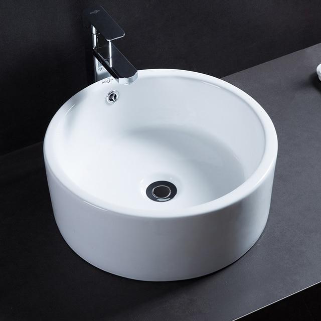 Product smelten badkamer ronde tafel wastafel wastafel eenvoudige ...