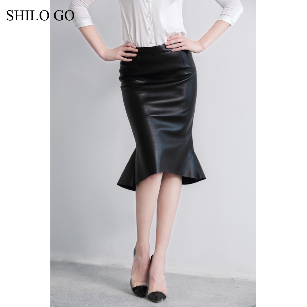 Popular Leather Pencil Skirts-Buy Cheap Leather Pencil Skirts lots ...