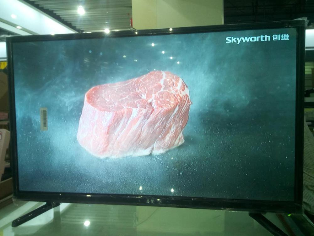 (Livraison gratuite de l'ukraine à l'ukraine seulement) moniteur d'affichage et plusieurs langues version mondiale T2 32 pouces TV Full HD télévision