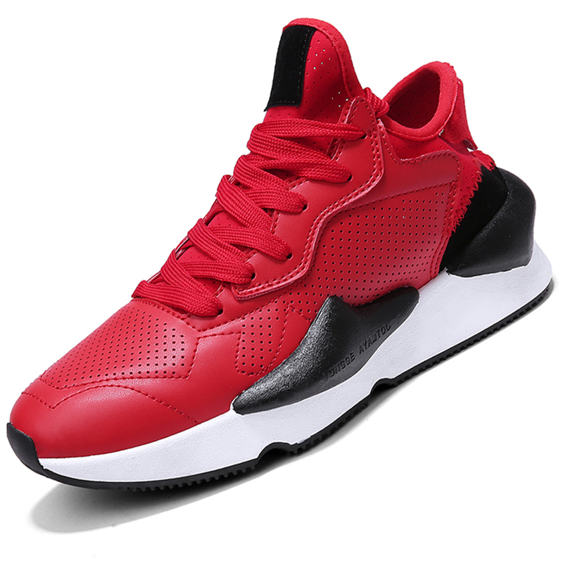 Breathable Men Running Shoes Outdoor Sport Jogging Sneakers Cushion Athletic Lace-up Walking Training Zapatillas Hombre Balonces
