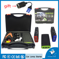 Factory Supply Multi function Mini Jump Starter 600A 12V Car Battery Charger Power Bank For Tablet Smartphone