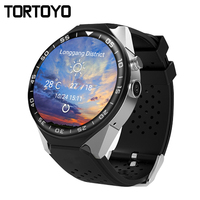 TORTOYO S99C Android 5.1 3G Smart Watch Phone MTK6580 1G+16G Heart Rate Monitor Camera GPS WIFI Round Screen Sports Wristwatch