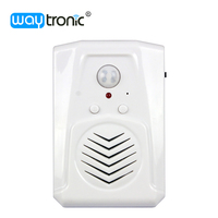 Wireless Induction Doorbell Infrared Sensor Alarm SD Card Reader Sound Player Voice Announcer Bidirectional Induction