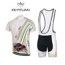 2018 KEYIYUAN Moving sound Cycling Jersey Men's bicycle cycling clothing Bike wear Shirts outdoor short sleeve new Short mtb