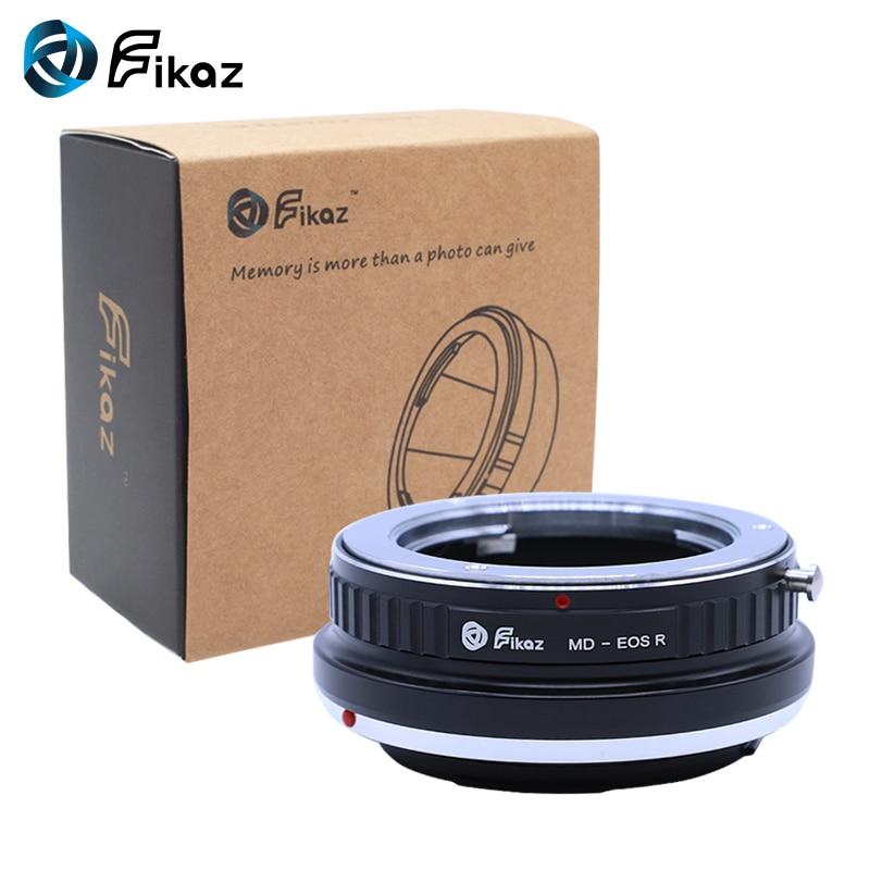 Fikaz pour MD-EOS R caméra adaptateur de montage d'objectif pour Minolta MD objectif à Canon EOS R RF caméra de montage - 6