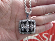 High quality 1983 Los angeles Oakland raiders super bowl championship Pendant Necklace with Chain fan gift Free shiping
