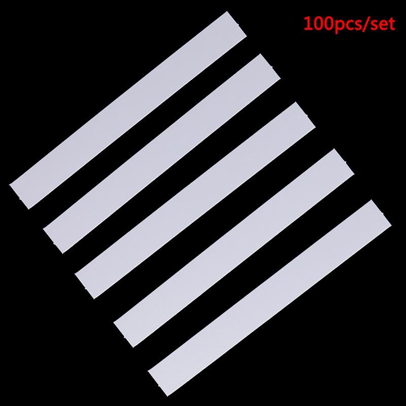 100pcs Perfume Essential Oils Test Tester Paper Strips 130x15mm Aromatherapy Fragrance Testing Strip