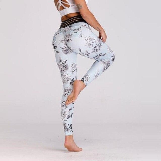 Print Pocket Workout Leggings 2