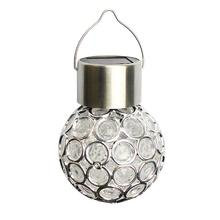 Solar Light Outdoor Decoration Magic Ball Light Portable Camping Tent Light Led Solar Energy Street Light 25led solar camping light solar multifunction remote control lights solar hanging light tent light