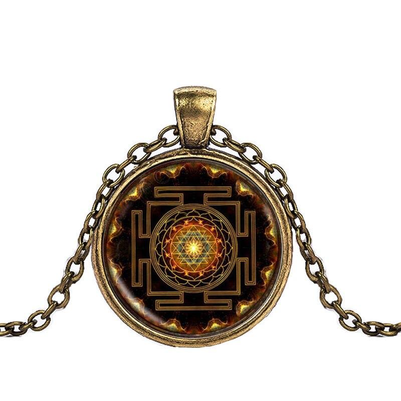 Sacred Sri Yantra Necklace + Pendant FREE SHIPPING