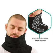Trtl suave Cuello Almohada Inflable Del Cuello Almohada Confortable Almohada de Viaje Para Dormir Travesseiro Oreiller Textiles Para El Hogar