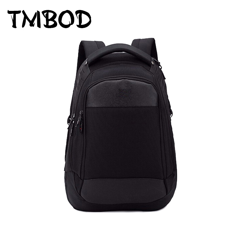 Hot 2017 quality goods travel bag and business computer backpack nylon black backpacks practical casual backpack for male QF101 mcd200 16io1 [west] quality goods