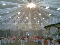 18 Pieces Wedding Ceiling Drape Canopy Drapery For Decoration Wedding Fabric 0 45m 8m Per Piece