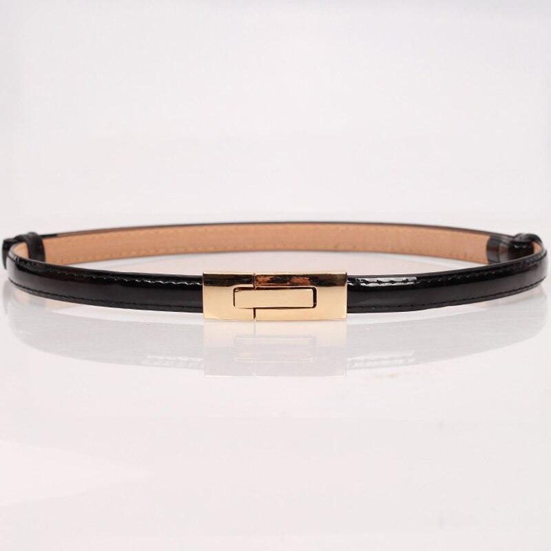 2018 high quality Women's faux leather straps   belt   elegant fashion designer waist   belts   corset Black White silver womens accesso