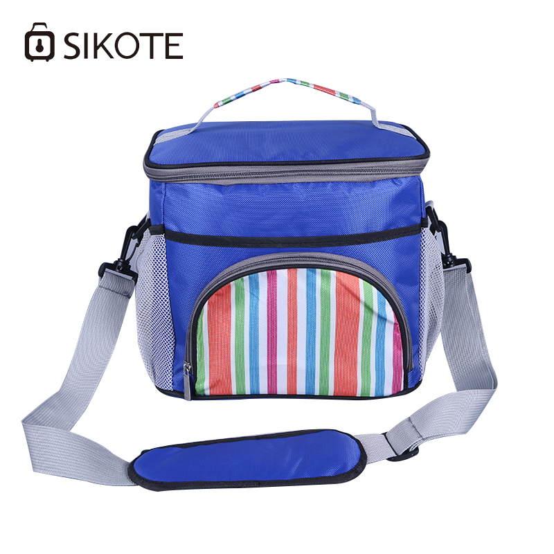 SIKOTE Lunch Food Bag Women Men Kids Waterproof Portable Thermal Picnic Lunch Box Cooler Insulated Handbags Bolsa Termica