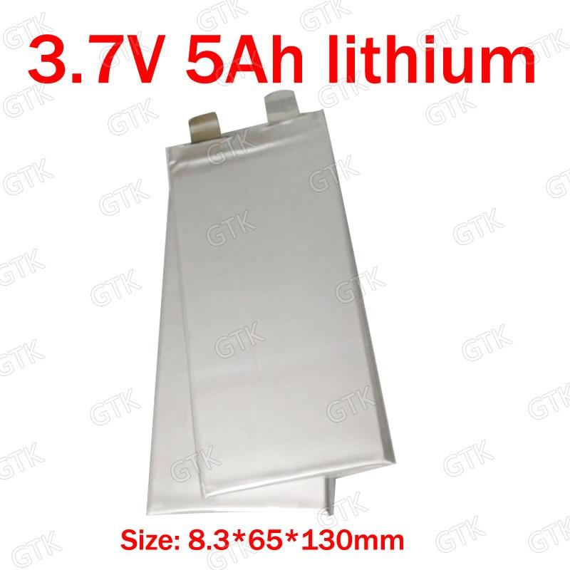 20pc Brand 3.7v 5ah Lithium Polymer Battery 3.7v 5000mah 20a Discharge For 24v 15ah Pack Diy Power Tool Ebike Battery Wheelchair Batteries Power Source