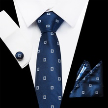 Ties for Men Wedding Suit Solid Mens Neck 7.5cm Silk Gravatas Dress Corbatas Hombre Gift men