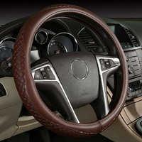 Car Steering Wheels Cover Genuine Leather Accessories For Volvo XC90 S60 V60 S70 V70 C70 S80