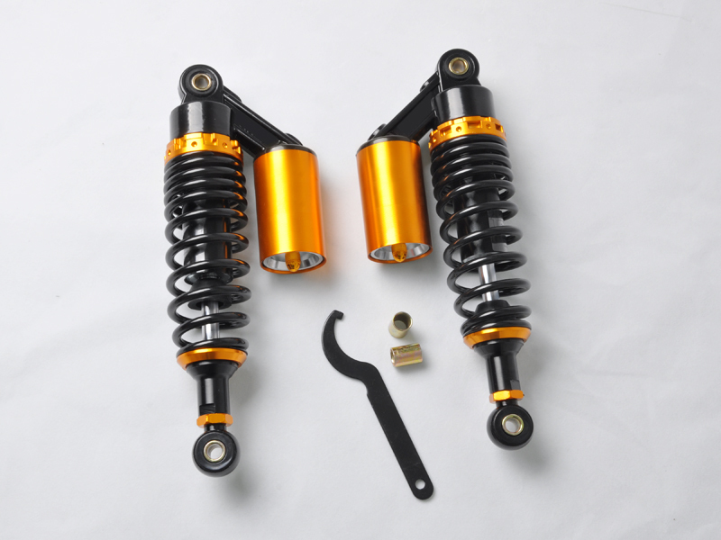Wotefusi For 11 280mm Adjust Air Shocks Clevis For Honda DIO 50 ZX SR Elite Zoomer Ruckus [PA80] zoomer ruckus fi nps50 black engine frame extend extension kit with handle post