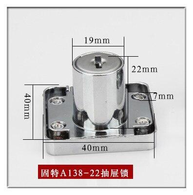 Schließzylinder 22mm/33mm zink legierung GUTE möbelschlösser ...