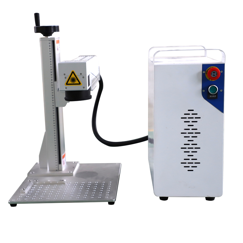 Free Shipping 20w Fiber Laser Marking Machine / Laser Marking Machine Portable Fiber / Marking Machine