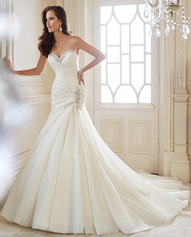 Online Get Cheap Strapless Bling Mermaid Wedding Dress -Aliexpress ...