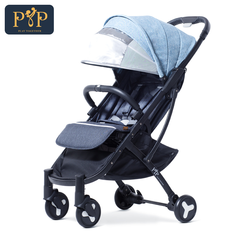 Lightweight Portable Kidstravel Baby Stroller 2 In 1 Folding 2018 Style Baby Carriages For Newborns carrinho de bebe baby stroller infant comfortable baby throne strollers baby carriages for newborns folding portable stroller