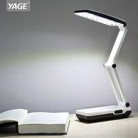 YAGE Desk Lamp Night Light LED Table Lamp Led Reading Books Desk Light Usb Foldable 3