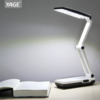 YAGE Desk Lamp Night Light LED Table Lamp Led Reading Books Desk Light Usb Foldable 3