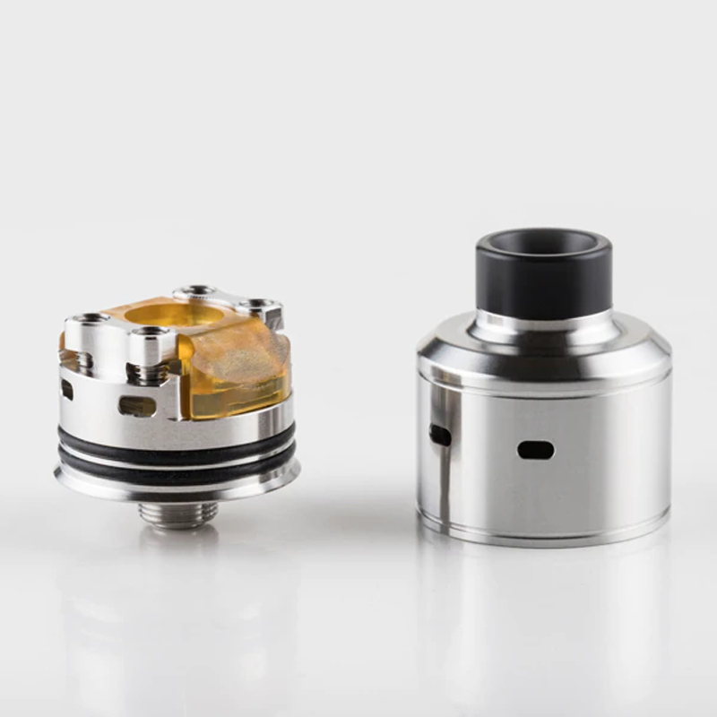 Shenray Citadel RDA Atomizer with Peek Insulators Electronic Cigarette 22mm Rebulidable Dripping Tank for Vape Box Mod Vaporizer