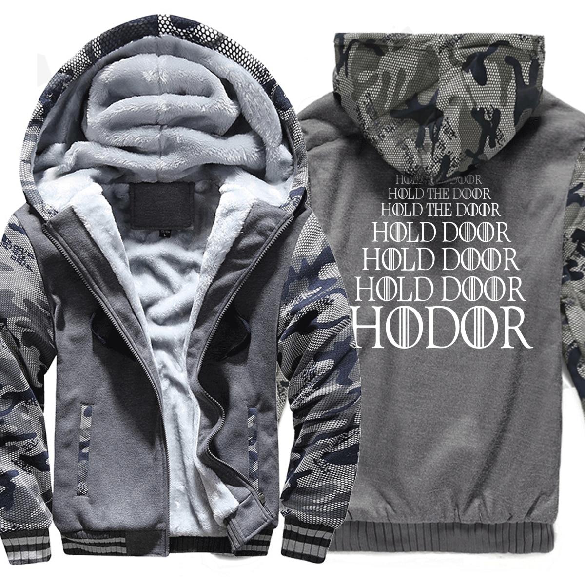 Game of Thrones HODOR Print fashion men hoodies funny 2019 winter sweatshirts Men's sweatshirts tracksuit hoody Hipster Hip Hop