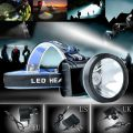 2016 New 3000 Lumens Headlamp Head Lamp Waterproof Rechargeable Battery Cycling Fishing Headlight Miner Lamp US/EU/UK Charger