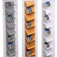 11 11 Homdox Home CD DVD Rack Cabinets Bookcase Bookshelf Storage Shelf Shelves