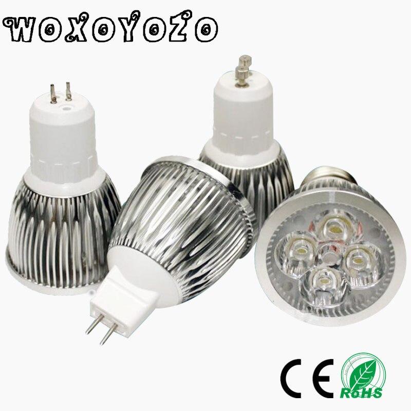 High Power <font><b>Lampada</b></font> <font><b>LED</b></font> spotlight GU5.3 MR16 <font><b>led</b></font> bulbs MR 16 AC&#038;DC 12V GU 5.3 AC110V 220V Dimmable <font><b>9W</b></font> 12W 15W <font><b>Led</b></font> Lamp light