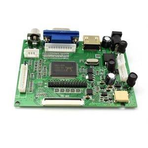 Image 5 - Controlador de pantalla Lcd ACC TTL HDMI VGA 2AV LVDS 50pin Board kit para 7 8 9 pulgadas Monitor LCD Raspberry Banana Pi pcduino C4 008