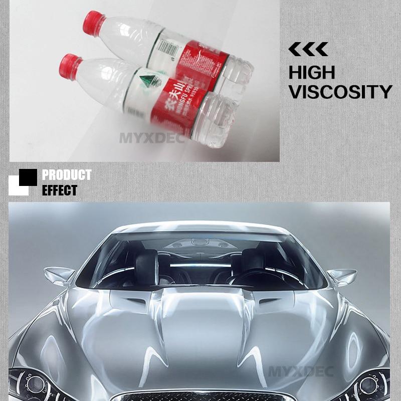 10/15/20 / 30cm x5M Rhino Skin Sticker Car Stötfångare Huv - Exteriör biltillbehör - Foto 5