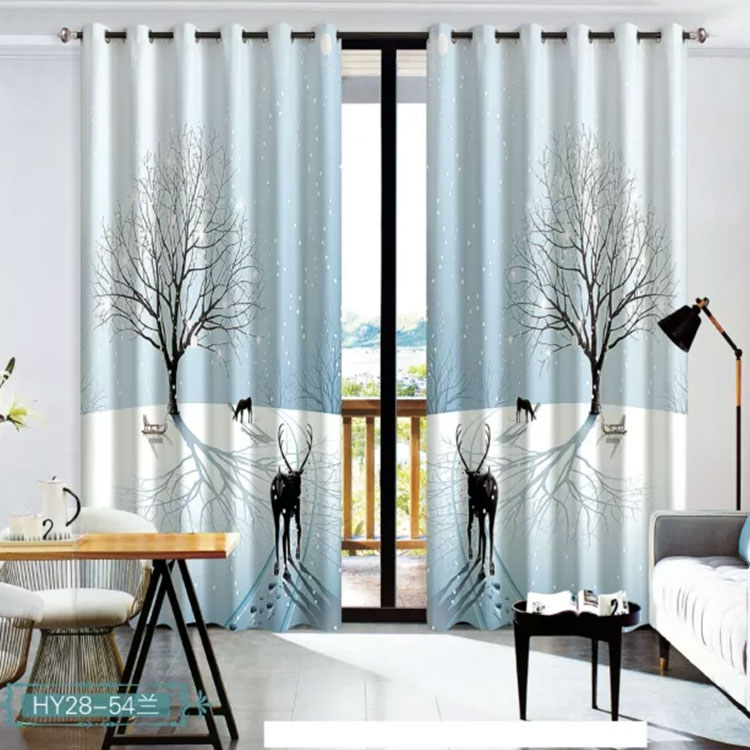 Permalink to Window Cartoon 3D Curtain Living Room Modern Home Goods Window Treatments Polyester Printed 3d Curtains For Bedroom