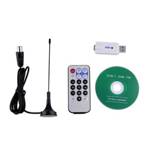 USB DVB-T RTL-SDR Realtek RTL2832U & R820T Tuner Receiver Dongle PAL IEC Input Wholesale Drop Shipping