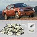 Envío Libre!! #39 8x Luces LED Blanco Paquete Interior Kit Para Chevy Avalancha 2007-2013
