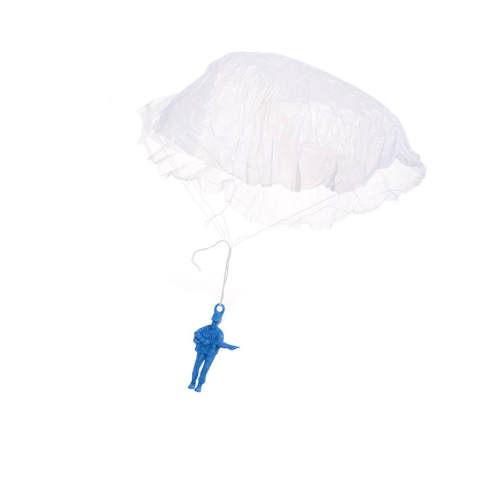 3PCS Mini Kids Parachute Hand Throwing Parachute Toy Play Outdoor Games Children Educational Parachute With Figure Soldier