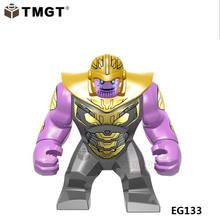 Single Sale Big Size Figures Thanos Venom Hulk Infinity Gauntlet Building Blocks Gift Toys For Children Compatible With Legoings(China)