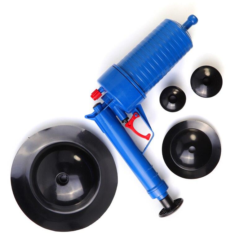 High-Pressure Powerful Manual Sink Plunger And Air Power Drain Blaster Gun For Toilets 6