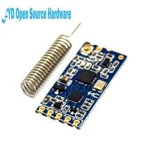 1 sztuk 433Mhz HC 12 SI4463 bezprzewodowy moduł portu szeregowego 1000m zastąpić Bluetooth