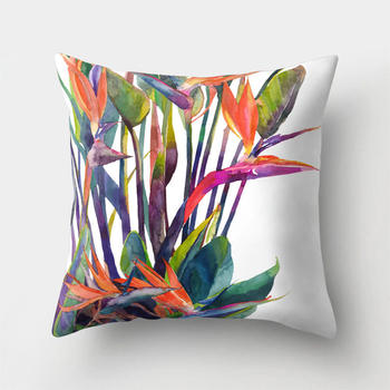 Tropical Bird Of Paradice Cushion Covers
