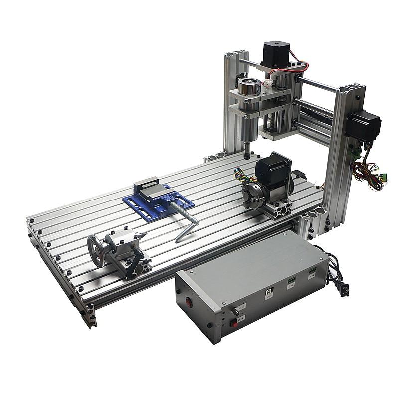 DIY CNC 3060 Gravure Sur métal machine CNC Routeur Gravure Perceuse Fraiseuse 600*300mm taille de travail
