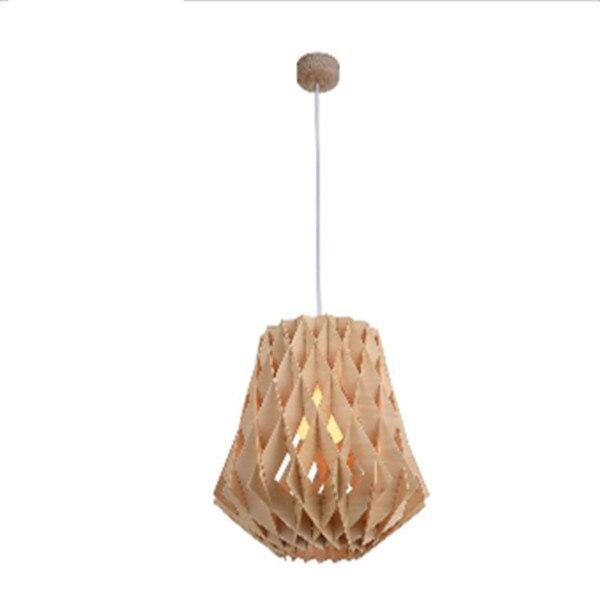 gratis verzending nieuwe moderne retro natuurlijke hout hanger